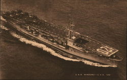 Aircraft Carrier U.S.S. Mindoro