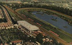 Aerial View oh Hialeah Race Course