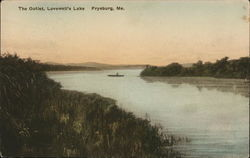 The Outlet, Lovewell's Lake Postcard