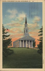 Chapel, Middlebury College