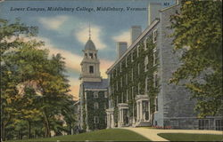 Lower Campus at Middlebury College