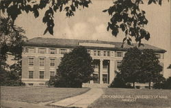 Stockbridge Hall at University of Mass.
