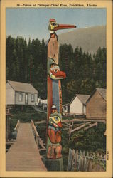 Totem of Thlinget Chief Kian