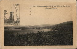 Lake Winnipesaukee, N.H. and Melvin Bay from Abenaki Tower