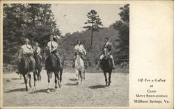 Off For a Gallop at Camp Mont Shenandoah