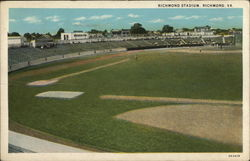 Richmond Stadium Postcard