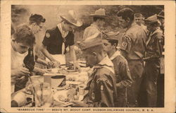 Barbecue Time, Beech Mt. Scout Camp, Hudson-Delaware Council