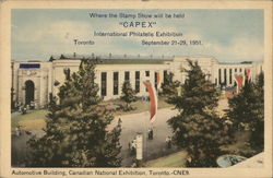 Automotive Building, Canadian National Exposition