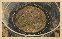 $35,000 Pan of Gold Dust, Alaska