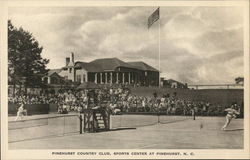Pinehurst Country Club, Sports Center