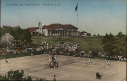 Club House and Tennis Courts