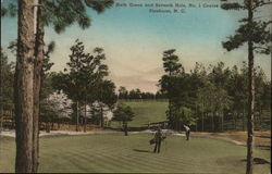 Sixth Green and Seventh Hole, No. 1 Course