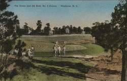 The Green and 5th Hole, No. 2 Course