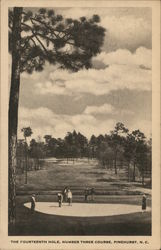 The Fourteenth Hole, Number Three Course