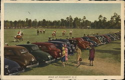 Polo at Pinehurst, N. C.