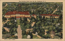 The Carolina Hotel from the Air