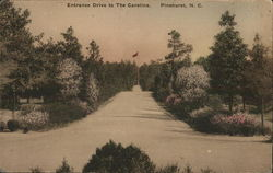 Entrance Drive to the Carolina