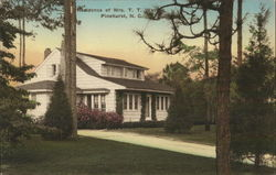 Residence of Mrs. T.T. Watkin