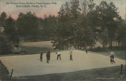 5th Putting Green, Southern Pines Country Club