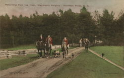 Returning from the Hunt, Weymouth Heights