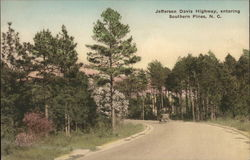 Jefferson Davis Highway, entering Southern Pines