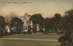 H.A. Page Residence