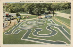 Miniature Golf Course, Hoard & Mullis Amusement Park