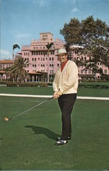 Sam Snead, at Boca Raton Hotel and Club
