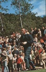 Arnold Palmer Tees Off at Stratton Mountain Country Club