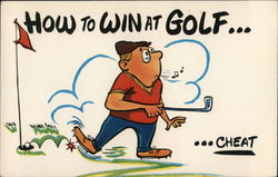 How to Win at Golf... Cheat
