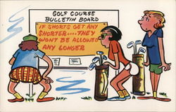 Golf Course Bulletin Board