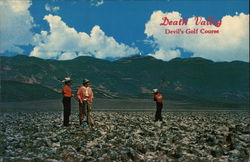 Devil's Golf Course Postcard