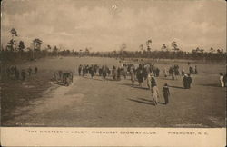"""The Nineteenth Hole"" Pinehurst Country Club Postcard"