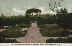 A Portion of the Gardens--Weymouth Woods