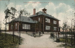 Public School Building Postcard