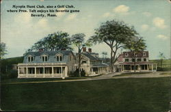 Myopia Hunt Club, Also Golf Club