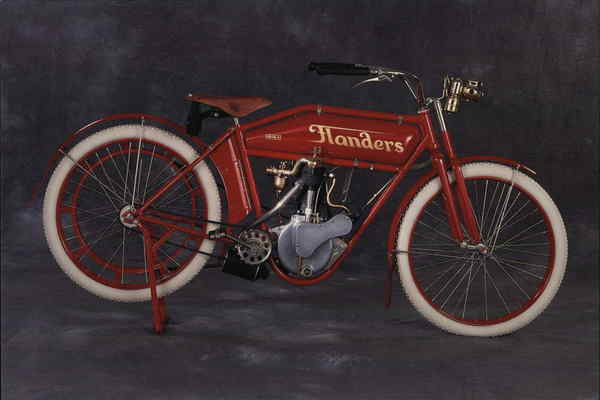 1914 Flanders Model B Westerville Ohio Motorcycles