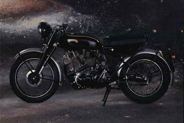 1955 Vincent Rapide Westerville Ohio Motorcycles