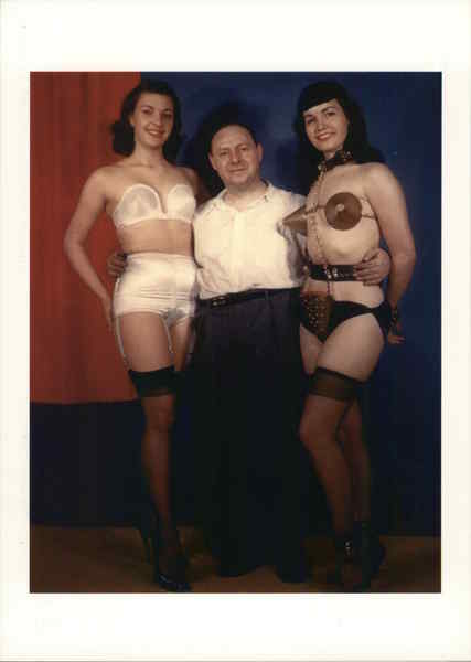 Irving Klaw and Bettie Page Risque & Nude