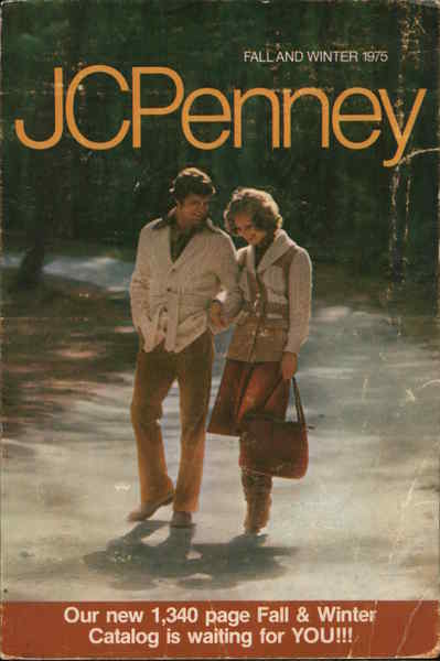 1975 Fall & Winter 1975 Catalog, JC Penney Modern (1970's to Present)