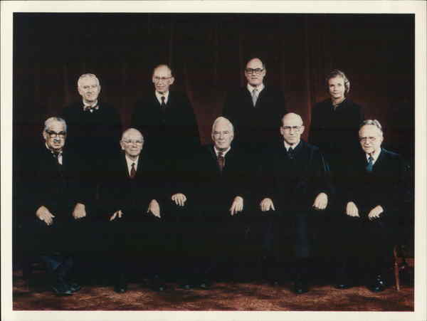 Justices of the US Supreme Court Political