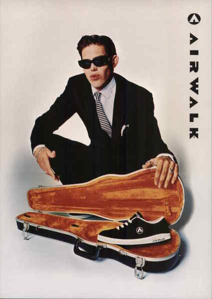 Airwalk Shoe Movie and Television Advertising