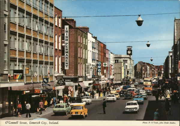 O'Connell Street Limerick City Ireland