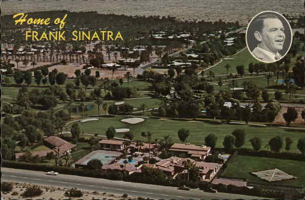 Home of Frank Sinatra Palm Springs California