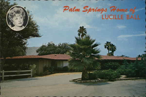Winter Resort Home of Lucille Ball Palm Springs California