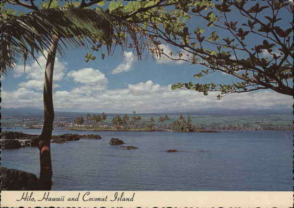 Hilo, Hawaii and Coconut Island