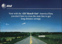 AT&T Ad for Reach Out Ameruica Long Distance Plan