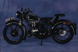 1934 Matchless Silverhawk