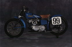 1948 Indian Sport Scout, Model 648 Postcard