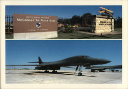 McConnell Air Force Base Postcard